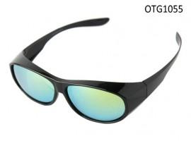 OTG1055 shiny black polaroid sunglasses