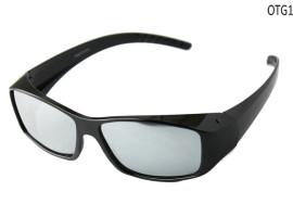 silver mirror polarized sunglasses